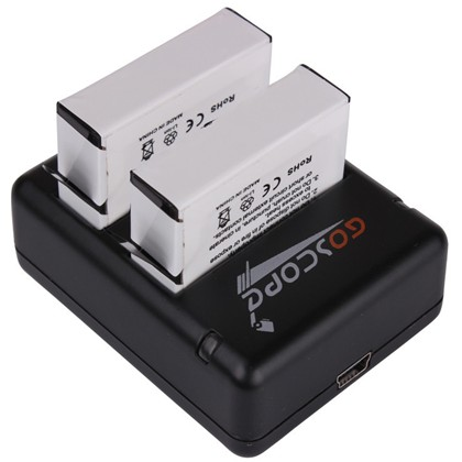 GoScope Hero4 Dual Charger with Battery