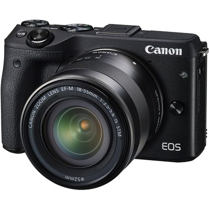 Canon EOS M3+ 15-45mm