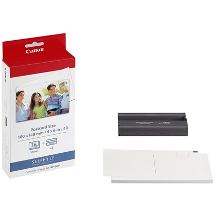 Canon KP 36IP - Print cartridge/paper kit