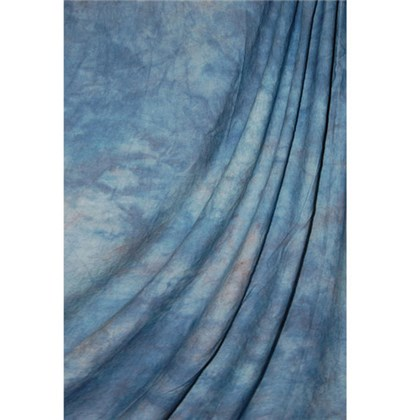 Savage Crushed muslin 3x7m apex blue