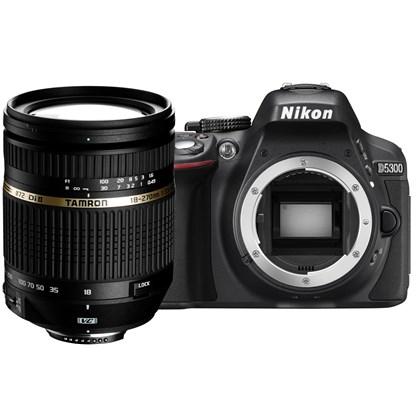 מצלמה DSLR ניקון Nikon D5300 + Tamron 18-270mm - קיט