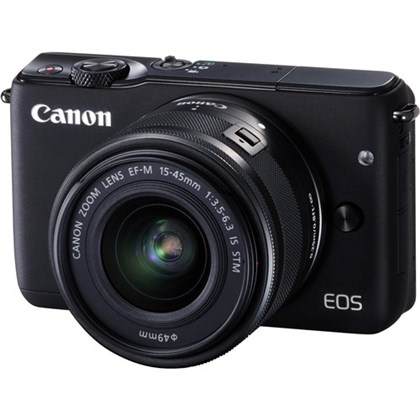 Canon EOS M10 with 15-45mm Lens