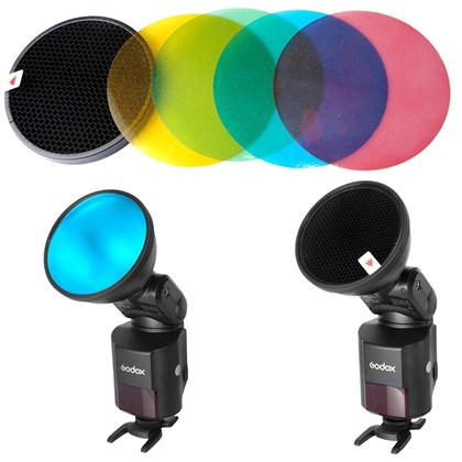 GODOX S-11 Gel Kit + Grid for 360/180