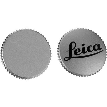 "Soft Release Button ""LEICA"", 12mm, chrome"