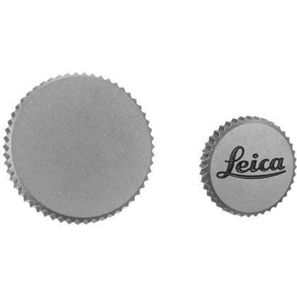 "Soft Release Button ""LEICA"", 8mm, chrome"