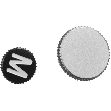 "Soft Release Button ""M"", 12mm, black"