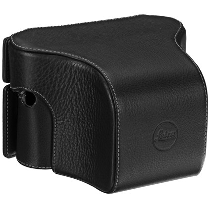 Leica Ever Ready Case M/M-P Typ 240 with small front, leather, black