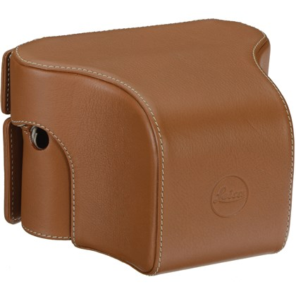 Leica Ever Ready Case M/M-P Typ 240 with small front, leather, cognac