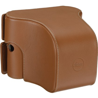 Leica Ever Ready Case M/M-P Typ 240 with large front, leather, cognac