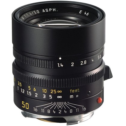 עדשת לייקה LEICA SUMMILUX-M 50mm f/1.4 ASPH