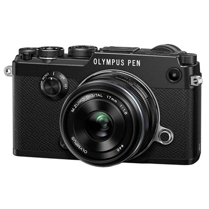 PEN-F with M.ZUIKO DIGITAL 17mm f/1.8 Lens Kit (Black)