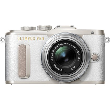 Olympus E-PL8 Kit (White) with M.ZUIKO 14-42mm EZ