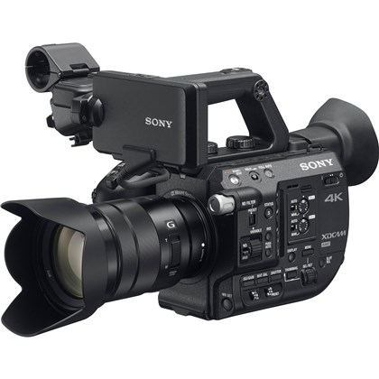 Sony PXW-FS5 4K Super35 Handheld E-Mount Camcorder with Lens