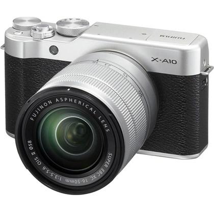 מצלמה חסרת מראה פוג'י Fujifilm X-A10 Kit 16-50mm - קיט