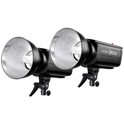 GODOX DP600 Flash DOUBLE kit