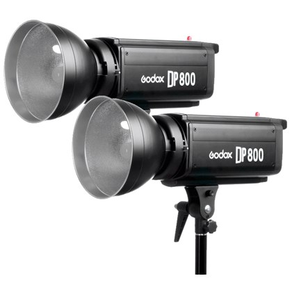 GODOX DP800 Flash DOUBLE kit