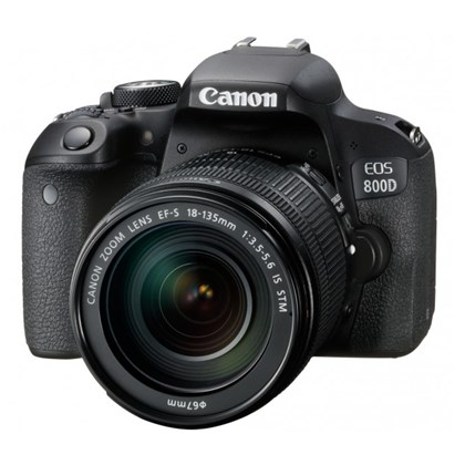 מצלמה DSLR קנון Canon EOS 800D + 18-135 IS STM - קיט
