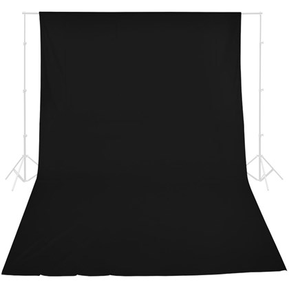 GODOX Cotton Backdrop Black 3x6m