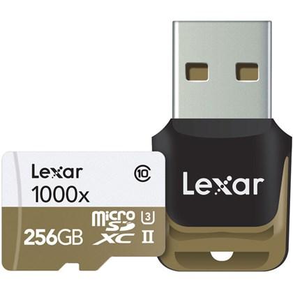 LEXAR SD256 micro X1000+READER