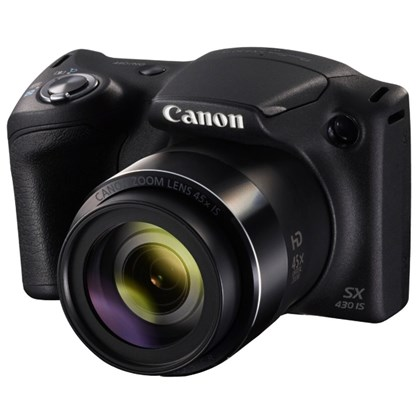 מצלמה קומפקטית קנון Canon PowerShot SX430 IS - קרט