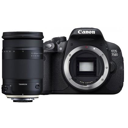Canon 750D + Tamron 18-400