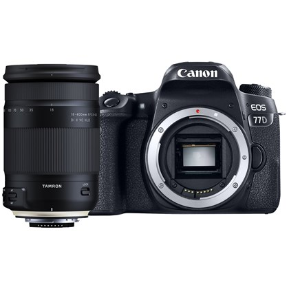 Canon EOS 77D + Tamron 18-400