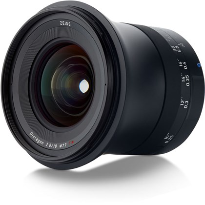 Zeiss Milvus 18mm f/2.8 ZE Lens for Canon EF