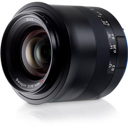 Zeiss Milvus 35mm f/2 ZE Lens for Canon EF