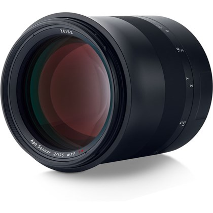 Zeiss Milvus 135mm f/2 ZE Lens for Canon EF