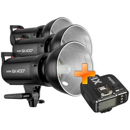 GODOX SK400 II Triple kit + X1T