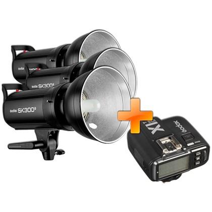 GODOX SK300 II Triple kit + X1T