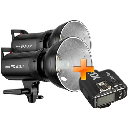GODOX SK400 II Double kit + X1T
