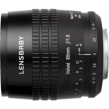 LENSBABY Velvet 85mm Nikon