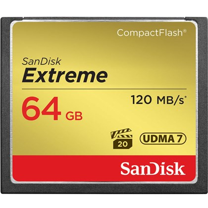 SanDisk 64 GB Extreme CompactFlash