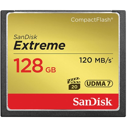 SanDisk 128 GB Extreme CompactFlash