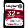 KINGSTON SD32Gb Canvas React  100MBs