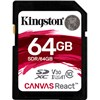 KINGSTON SD64Gb Canvas React  100MBs