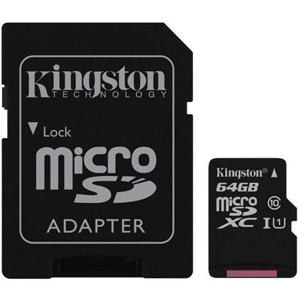 KINGSTON 64Gb MicroSD Canvas Select