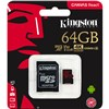 KINGSTON 64Gb MicroSD Canvas React 100MBs