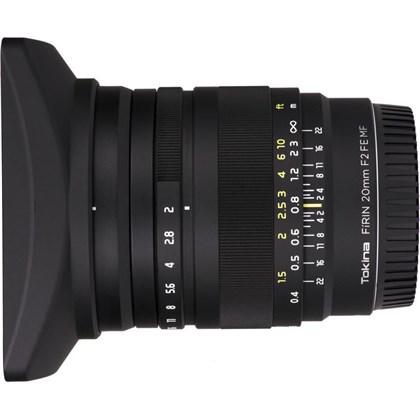 Tokina FiRIN 20mm f/2 FE MF for Sony E