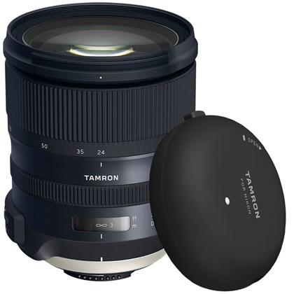 מצבע לזמן מוגבל בלבד! Tamron SP 24-70mm f/2.8 Di VC USD G2 Lens +Tamron Tap-in Console