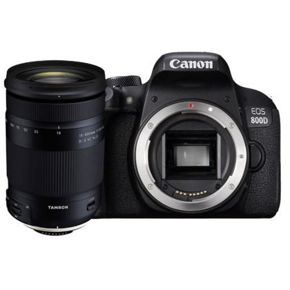 מצלמה DSLR קנון Canon EOS 800D + Tamron 18-400 - קיט