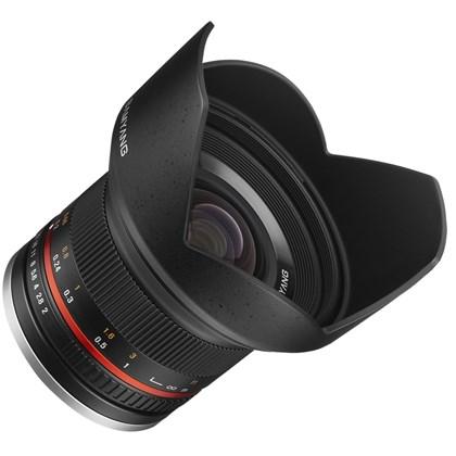 עדשה סאמיאנג Samyang for Micro 4/3 12mm F2.0 NCS CS