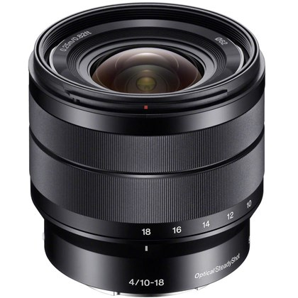 Sony 10-18mm f/4 OSS Alpha E-mount Lens