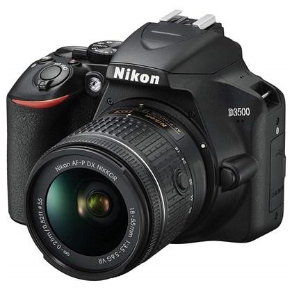 מצלמה DSLR ניקון Nikon D3500 + 18-55 VR AFP - קיט