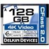 DELKIN CFAST 128G 560/495mbs