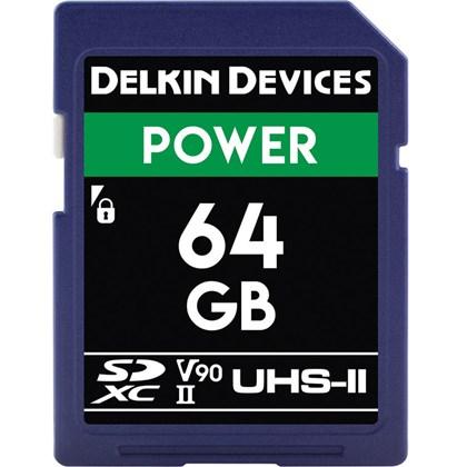 DELKIN SD 64G 300/250mbs V90
