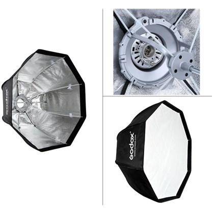 GODOX OCTAGON UMBRELLA 95 cm +BOWENS MOUNT