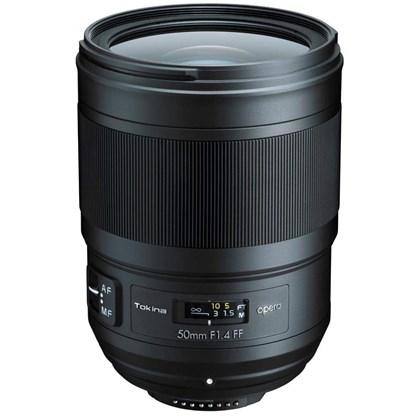 TOKINA 50mm Opera F1.4 Nikon