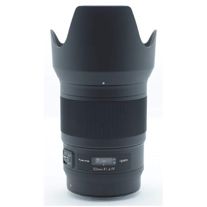 TOKINA 50mm Opera F1.4 Canon